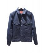RUDE GALLERY BLACK REBEL(ルードギャラリー ブラックレベル)の古着「ROAD JACK-1 DENIM JKT」|ブラック
