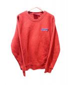 Supreme(シュプリーム)の古着「Connect Crewneck Sweatshirt」|オレンジ