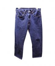 LEVIS VINTAGE CLOTHING(リーバイス ヴィンテージ クロージング)の古着「1947年復刻コーンミルズ赤耳セルビッチデニムパンツ」|インディゴ