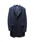 A.P.C(アーペーセー)の古着「メルトンチェスターコート」|ブラック