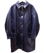 AKIRA NAKA(アキラ ナカ)の古着「コート」|ネイビー