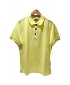 BURBERRY(バーバリー)の古着「ポロシャツ」|イエロー