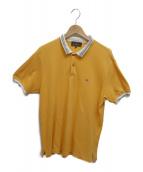 ETRO(エトロ)の古着「切替ポロシャツ」|オレンジ