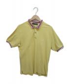 ETRO(エトロ)の古着「切替ポロシャツ」|イエロー