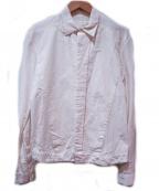 JULIUS(ユリウス)の古着「シームドシャツ」 ホワイト