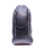 PELLE MORBIDA(ペッレ モルビダ)の古着「ボディーバッグ」|ブラック