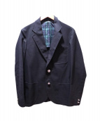 The Stylist Japan(ザスタイリストジャパン)の古着「ホップサック2B JK」 ブラック