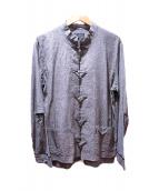whiteland Blackburn(ホワイトランドブラックバーン)の古着「China Shirts」|グレー