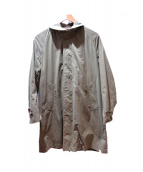 ORCIVAL(オーチバル/オーシバル)の古着「ステンカラーコート」|カーキ