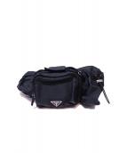 PRADA(PRADA)の古着「ウエストバッグ」|ブラック