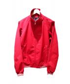 PRADA SPORTS(プラダスポーツ)の古着「ロゴブルゾン」|レッド