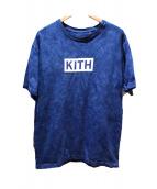 KITH(キス)の古着「BOXロゴプリントTシャツ」|ブルー