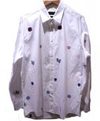LOUIS VUITTON(ルイヴィトン)の古着「クラシックシャツ」 ホワイト