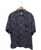 BRIONI(ブリオーニ)の古着「シャツ」 ネイビー