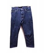ordinary fits(オーディナリーフィッツ)の古着「デニムパンツ」|ブルー