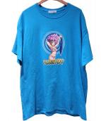 FLAGSTUFF(フラッグスタッフ)の古着「Ranfan Tee」|ブルー