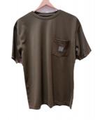 Needles Sportswear(ニードルズスポーツウェア)の古着「CREW NECK TEE」|グリーン