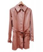 Traditional Weatherwear(トラディショナル ウェザーウェア)の古着「ステンカラーコート」 ベージュ
