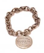 Tiffany&Co.(ティファニーアンドコー)の古着「コインブレスット」|シルバー