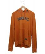 NIKE(ナイキ)の古着「プルオーバーパーカー」|オレンジ