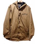 RVCA(ルーカ)の古着「撥水加工コーチジャケット」|ベージュ