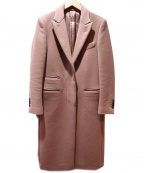UNITED ARROWS TOKYO(ユナイティッドアローズトウキョウ)の古着「ウールカシミヤメルトンコート」|ベージュ
