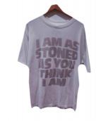 ()の古着「バックプリントTシャツ」 ホワイト