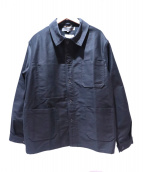 GOOD DESIGN SHOP COMME des GARCONS(グッドデザインショップ コムデギャルソン)の古着「CDG LOGO work jacket」|ブラック