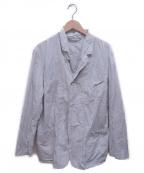 CASEY CASEY(ケーシーケーシー)の古着「コットンペーパージャケット」 グレー