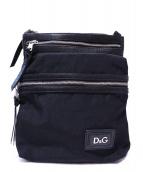 D&G(ディーアンドジ)の古着「ショルダーバッグ」|ブラック