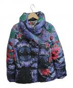 Desigual(デシグアル)の古着「中綿ジャケット」|ネイビー
