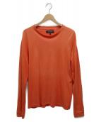 VAINL ARCHIVE(バイナルアーカイブ)の古着「フォトプリントTシャツ」|オレンジ