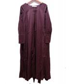MARIHA(マリハ)の古着「花園のドレス」 ブラウン