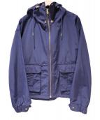 Andemiu(アンデミュウ)の古着「2WAYマウンテンパーカー」|ネイビー