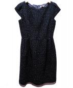 TOCCA(トッカ)の古着「ウールワンピース」|ブラック