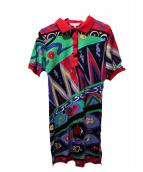 LEONARD SPORT(レオナールスポーツ)の古着「ポロシャツ」 マルチカラー
