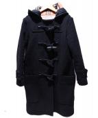 BURBERRY(バーバリー)の古着「ロングダッフルコート」|ブラック
