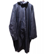 Y-3(ワイスリー)の古着「BLACK LONG WINDBREAKER」 ブラック