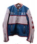 DIESEL(ディーゼル)の古着「L-RACING JACKET」|ブルー