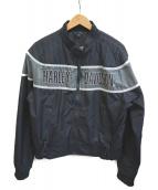 HARLEY-DAVIDSON(ハーレーダビットソン)の古着「ナイロンジャケット」|ブラック