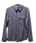 SNOWPEAK(スノーピーク)の古着「Flexible insulated shirt」 グレー