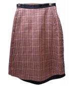CINOH(チノ)の古着「ロングタイトスカート」|マルチカラー