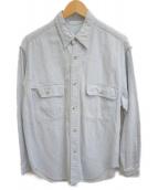 BEAUTY&YOUTH(ビューティーアンドユース)の古着「長袖シャツ」|スカイブルー