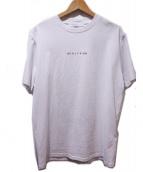 ALYX(アリクス)の古着「プリントTシャツ」 ホワイト