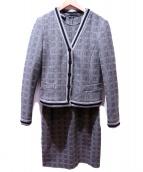 EMPORIO ARMANI(エンポリオアルマーニ)の古着「セットアップワンピース」|グレー