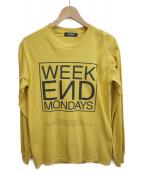 UNDERCOVER(アンダーカバー)の古着「長袖シャツ」|イエロー