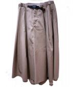 GRAMICCI×DICKIES(ディッキーズ×グラミチ)の古着「別注ボリュームスカート」 ベージュ