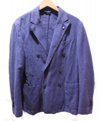 L.B.M.1911(エルビーエム1911)の古着「ダブルブレストジャケット」|ブルー