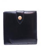 ETTINGER(エッティンガ)の古着「3つ折り財布」|ブラック
