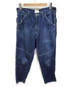 CAL O LINE(キャルオーライン)の古着「CARPENTER PANTS」 インディゴ